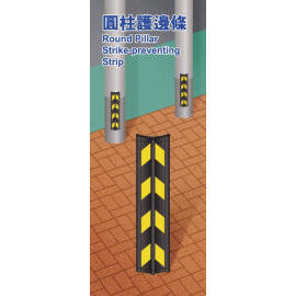 round pillar strike-preventing strip (круглых столба забастовка предотвращения Газа)