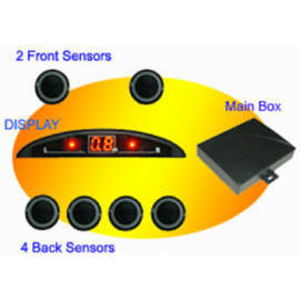 Mini-LED Display Car Parking Sensor