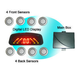 Rainbow LED Display Parking Sensor (Prolate Display) (Rainbow LED Display Датчик парковки (вытянутый дисплей))