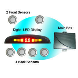 Rainbow LED Display Car Parking Sensor (Rainbow LED Display Датчик парковки автомобиля)