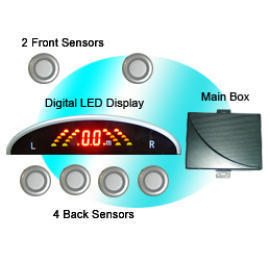 Rainbow LED Display Car Parking Sensor