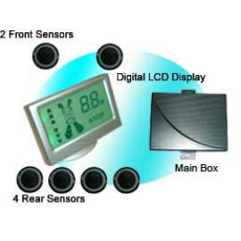 Colorful LCD Display Car Parking Sensor