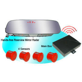 Wireless Rearview Mirror Parking Sensor