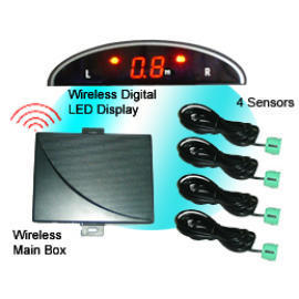 Wireless LED Display Parking Sensor