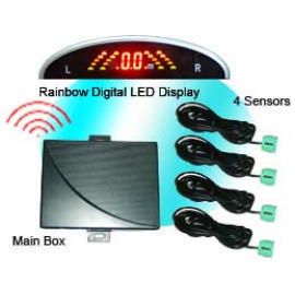 Wireless Rainbow LED Display Prking Sensor