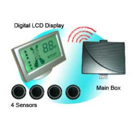 Wireless Colorful LCD Display Parking Sensor