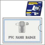 PVC Name Badge (ПВХ бэдж)