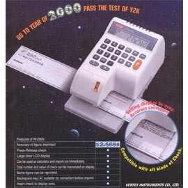 Electronic Checkwrriter(Vertex) (Электронные Checkwrriter (вершина))