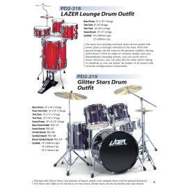 LAZER Lounge Drum Outfit (LAZER Lounge Drum Outfit)