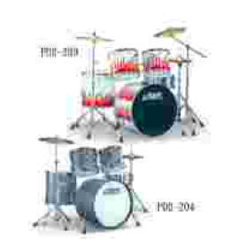 PD2-203 Flame Series Drum Outfit/PD2-204 5-PC Drum Outfit (PD2-203 Flame Serie Drum Outfit/PD2-204 5-PC Drum Outfit)