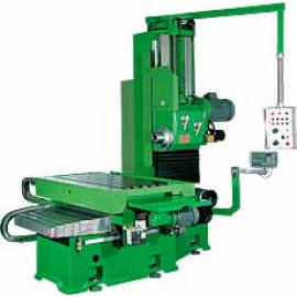 Horizontal Boring & Milling Machine ( Bed Type & Heavy Cutting )