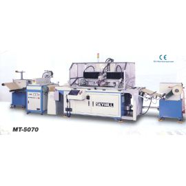 Roll to Roll Web-fed Screen Printing Machine