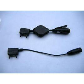 Retractable Audio Adapter, Portable Hands Free adapter, Mobile Accessories (Выдвижной Звуковой адаптер, портативный Hands Fr  адаптера, мобильные аксессуары)