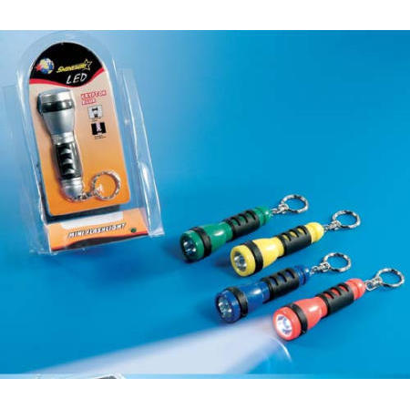 LED torch with key chain