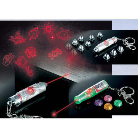 Laser pointer with key chain