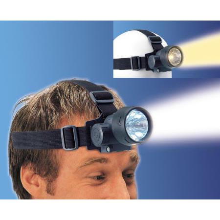 DUAL HEAD LIGHT- 6 pcs white LED + Krypton Bulb