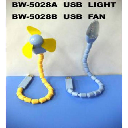 USB Light / USB Fan (USB Light / USB-вентилятор)