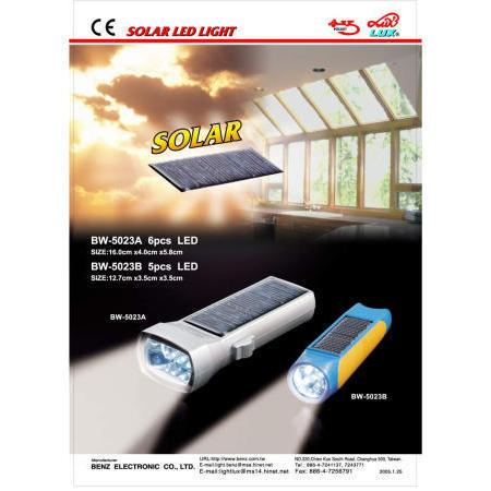 Solar LED light (Солнечная светодиод)