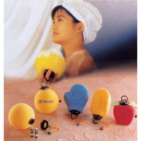 Bath massage ball
