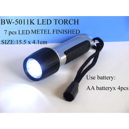 LED torch - 7pcs LED