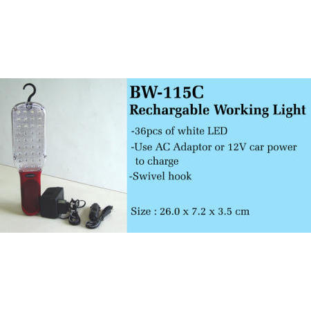 Rechargeable Working Light (Rechargeable travail Light)