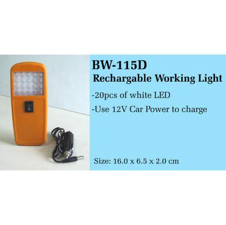Rechargable Working Light (Rechargable рабочей Света)