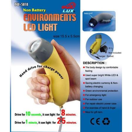 Environments LED light