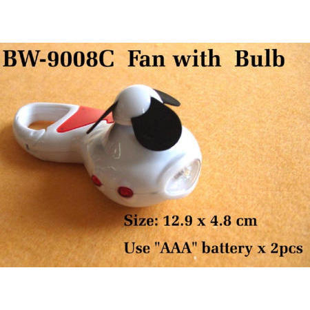 Fan with Bulb