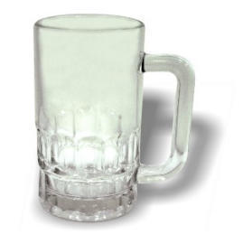 Beer Mug Glass (Пивная кружка стекло)