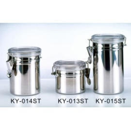Air-tighten Stainless Steel Canister (Air-затяните из нержавеющей стали канистры)