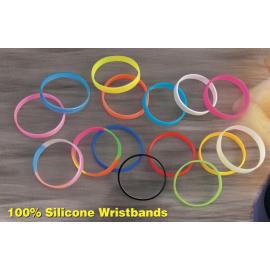 silicone rubber wristbands (браслеты из кремнийорганической резины)