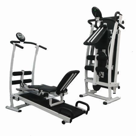 Treadmill, rowing