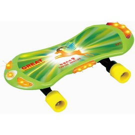 Automatic Generator Lighting Skateboard