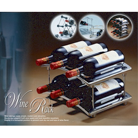 Stackabel Wine Rack / DIY Wine Rack (St kabel Wine R k / DIY Wine R k)