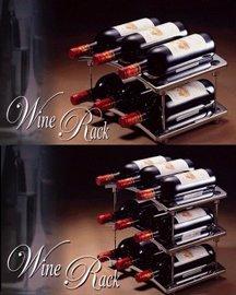 Chrome Wine Rack (Хром Wine R k)