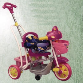 IC Music tricycle with Rock function, saddle cloth assemble releaseable handle