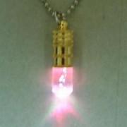Rainbow color Flashing light with necklace (Радуга цвета мигающий свет с ожерельем)