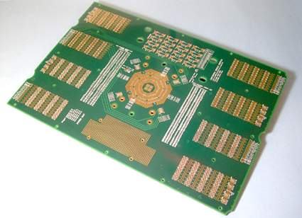 PCB - 12 Layer Seal Board Test Board (PCB - 12 Layer Seal Board Test Board)
