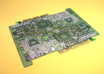 PCB - 6 Layer Interface Card w / BGA (PCB - 6 Layer Interface Card w / BGA)