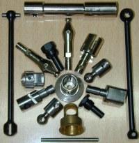 CNC Machining Processing and Machined Parts (Райзеров обработки и обрабатываемых деталей)