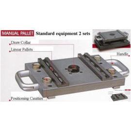 Manual Pallet Changer with Base (Руководства поддона чейнджер на Базе)