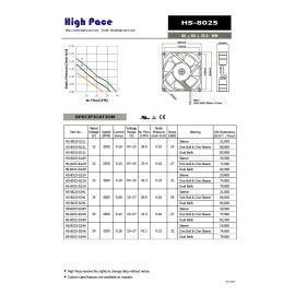 DC Fan 80 * 80 * 25 mm (DC Fan 80 * 80 * 25 мм)