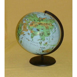 EH-165P 16`` Inflatable Animal Globe w/Stand (EH 65p 16``надувной глобус Животный W / Стенд)