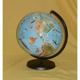 EH-167P 16`` Inflatable Sea World Globe w/Stand (EH 67P 16``Надувная Sea World Globe З / ПОВ)