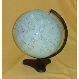 EH-169P 16`` Inflatable Stellar Map Globe w/Stand