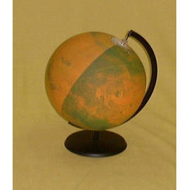 EH-171P 16`` Inflatable Mars Surface Globe w/Stand