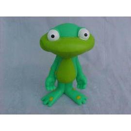 Soft PVC Frog Figure (Мягкий ПВХ лягушка Рисунок)