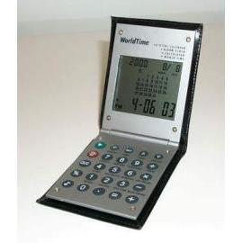 HT-2021 Calenda, World Time Clock and Calculator