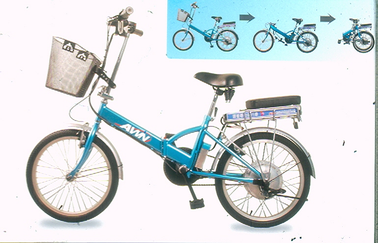 High-power high performance electric folding bike
