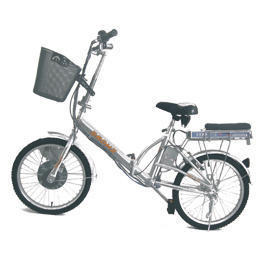 Foldable Chainless E-Bike